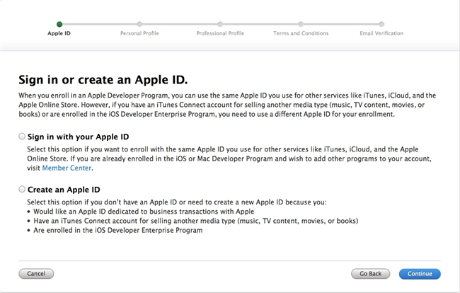 Apple Developer Ce Apple Developer Certificates Identifiers